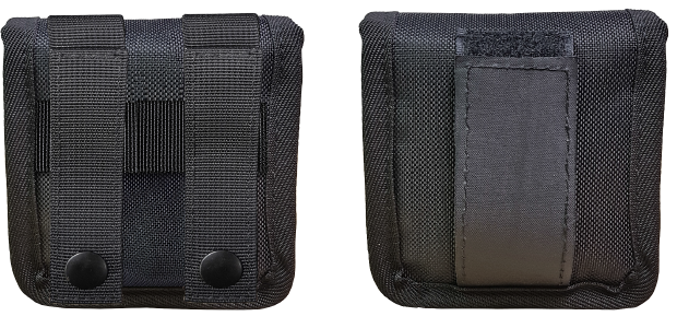 Narcan pouch back options-molle and velcro
