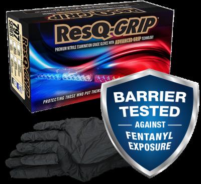 ResQ-Grip Gloves Fentanyl resistant
