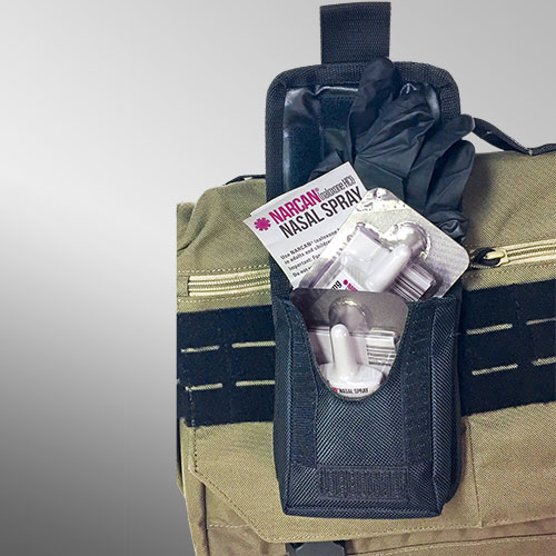 Emergency Tactical Pouch, Naloxone kit