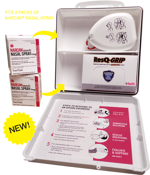 Narcan rescue box